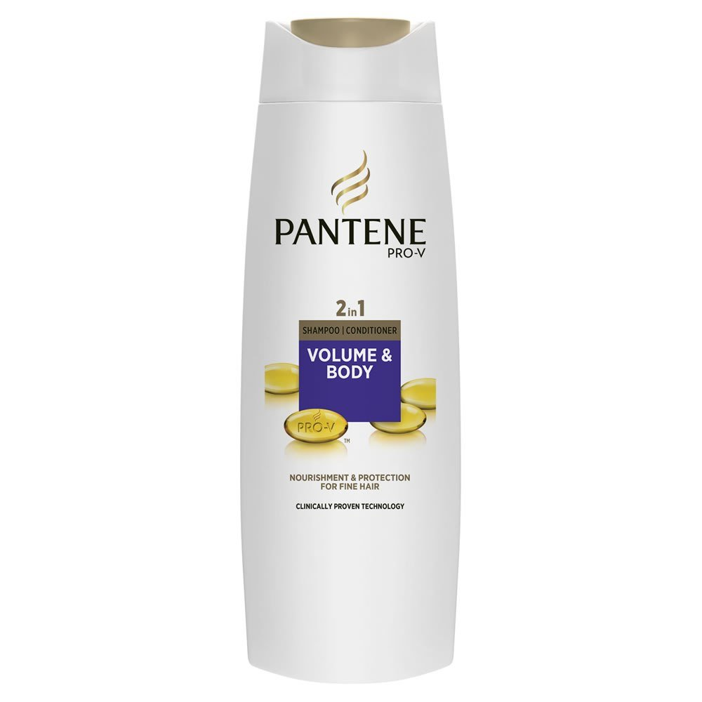 New Pantene 2 In 1 Shampoo And Conditioner Volume And Body For Ideas With Pictures