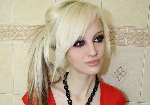 New 29 Stupendous Scene Hairstyles For Girls Creativefan Ideas With Pictures