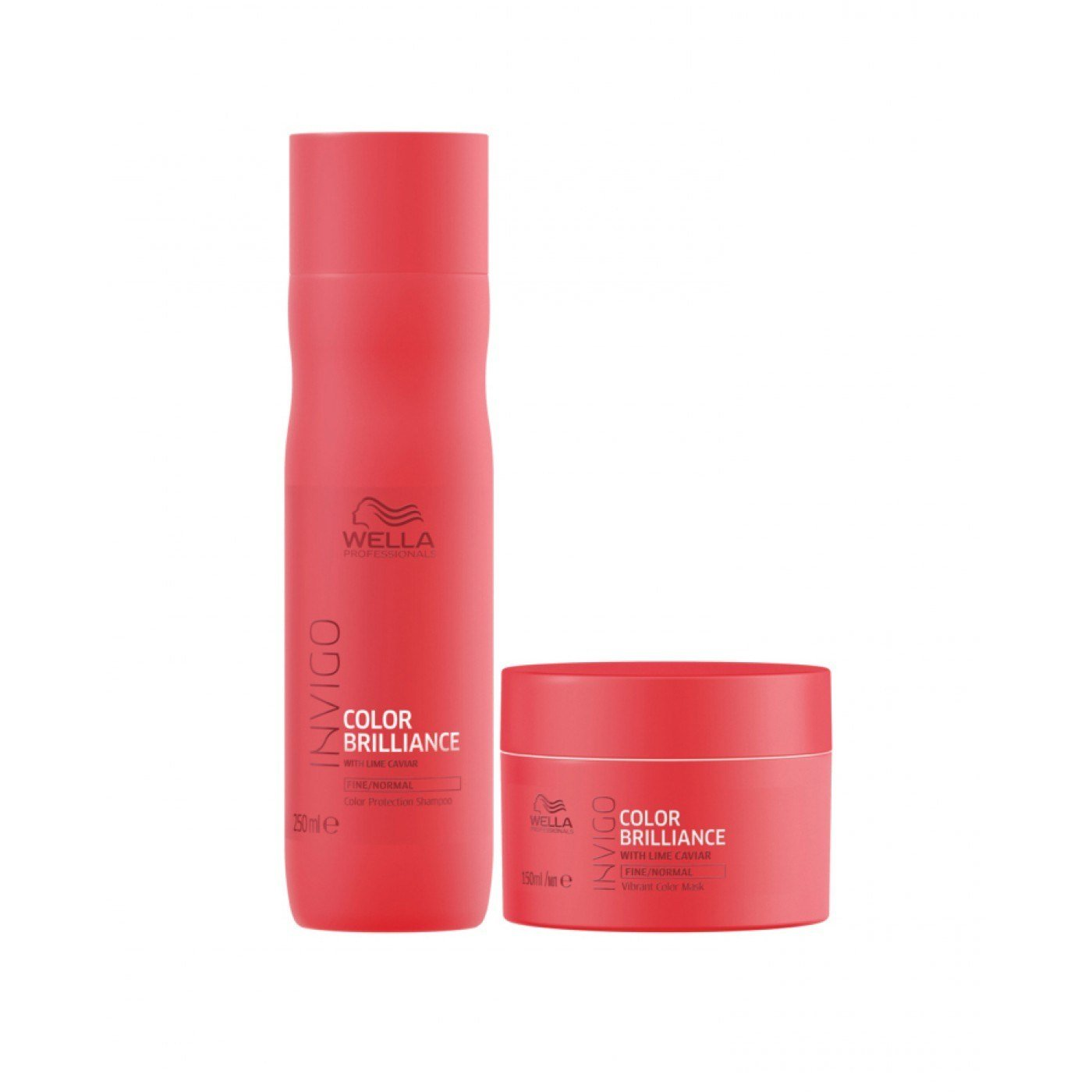 New Wella Care Brilliance Set For Fine To Normal Colored Hair Ideas With Pictures