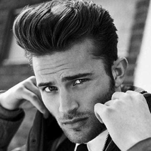 New Pompadour Hairstyle For Men 2019 Men S Haircuts Ideas With Pictures