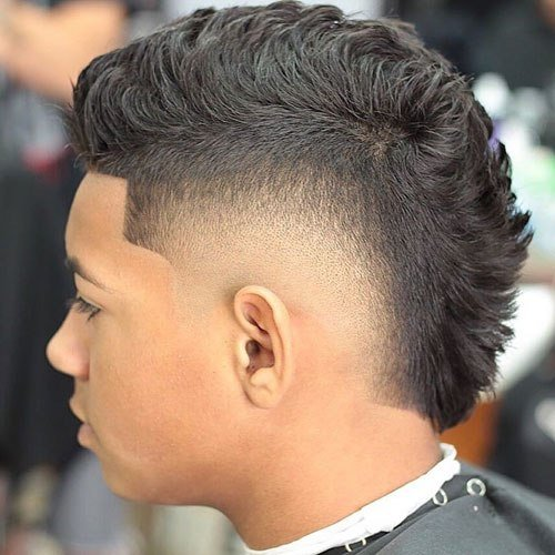 New Mohawk Fade Haircut 2019 Men S Haircuts Hairstyles 2019 Ideas With Pictures