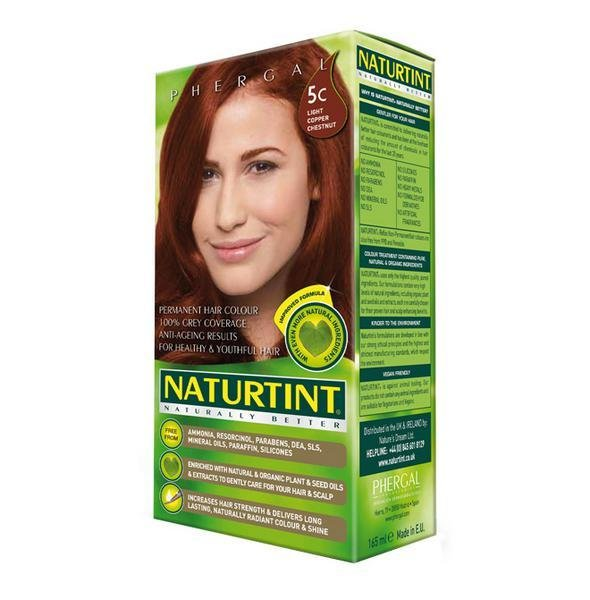 New Permanent Hair Colourant Light Copper Chestnut 5C In 165Ml From Naturtint Ideas With Pictures