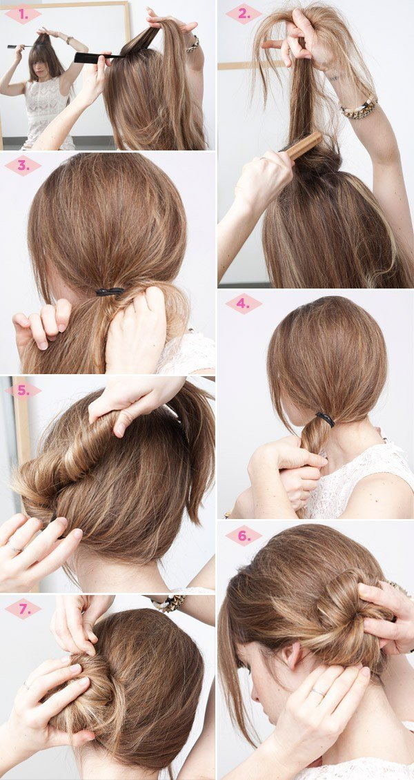 New 27 Easy Five Minutes Hairstyles Tutorials Pretty Designs Ideas With Pictures