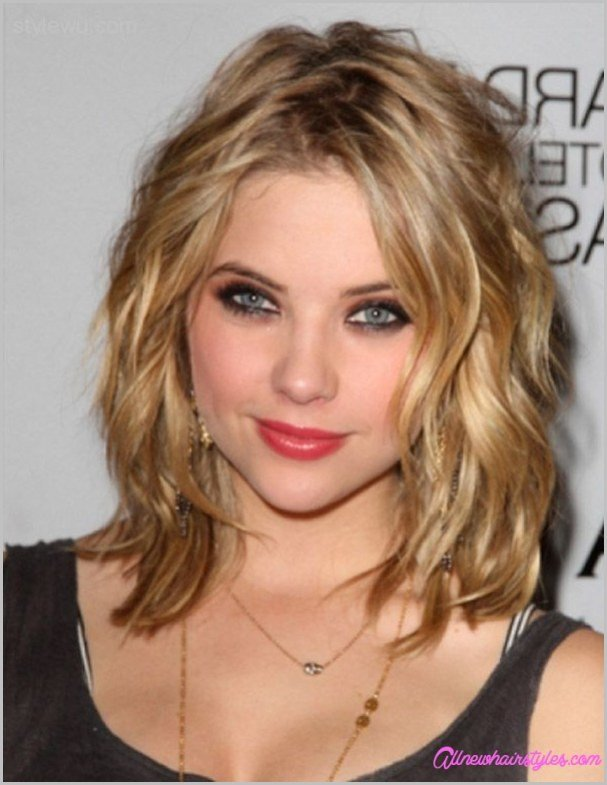 New Medium Length Curly Haircuts For Round Faces Ideas With Pictures