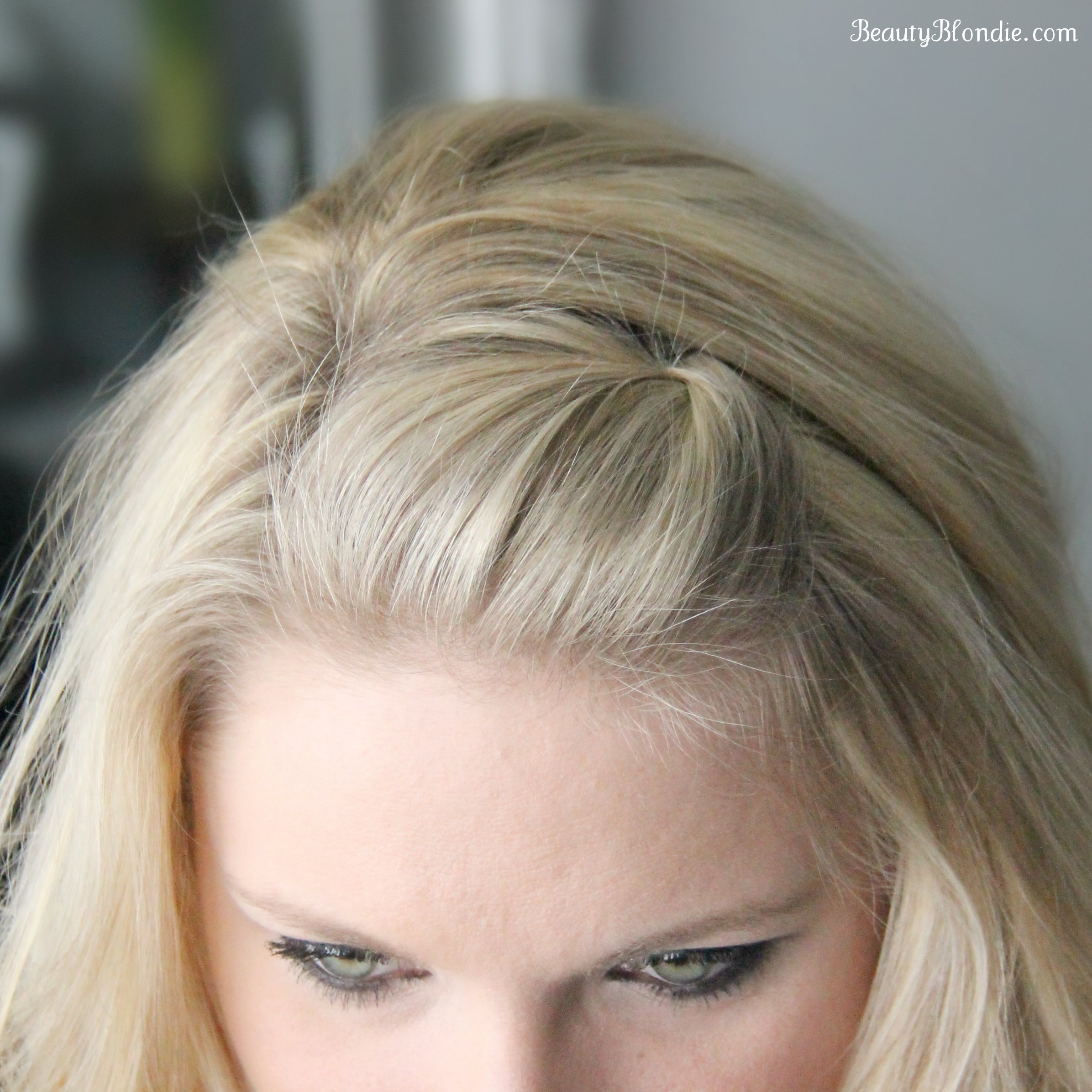 New Side Bang Pin Back P**F Using Just 1 Bobby Pin Video Ideas With Pictures