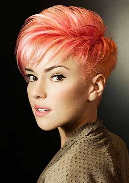 New Must See Short Hair Color Ideas Short Hairstyles 2018 Ideas With Pictures