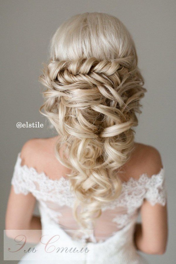 New 40 Stunning Half Up Half Down Wedding Hairstyles With Ideas With Pictures