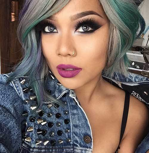New 30 Good Color For Short Hair Short Hairstyles Haircuts Ideas With Pictures