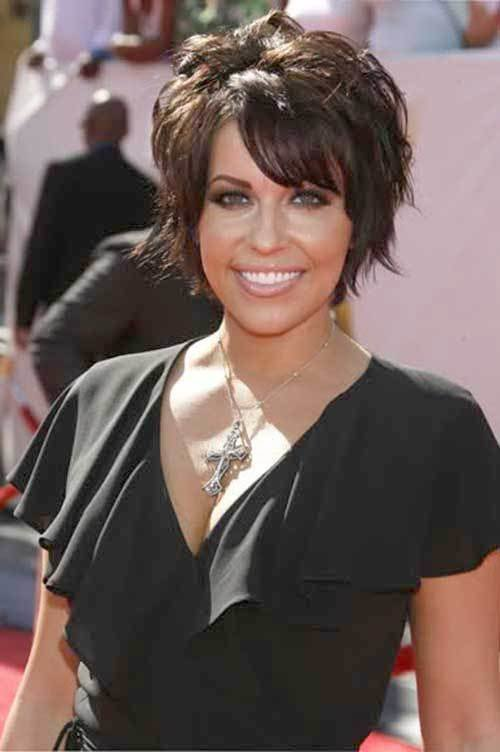 New 15 Short Layered Haircuts With Bangs 2014 Short Ideas With Pictures