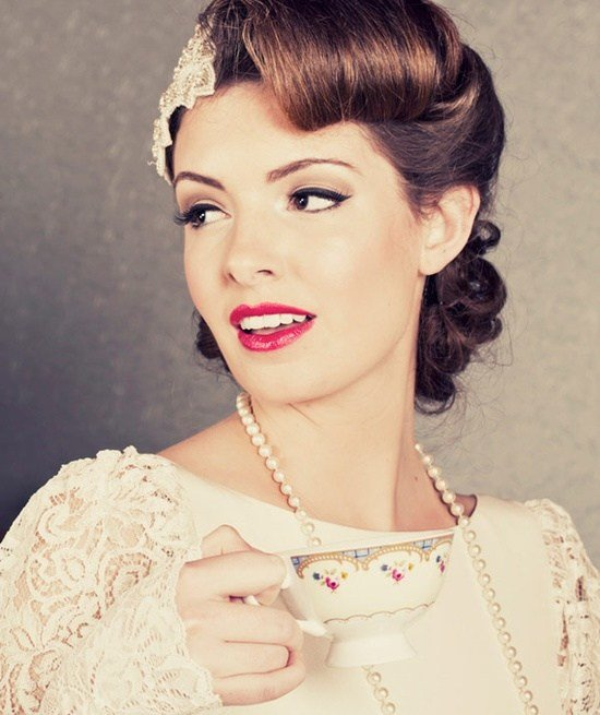 New 10 Vintage Wedding Hair Styles Inspiration For A 1920S Ideas With Pictures