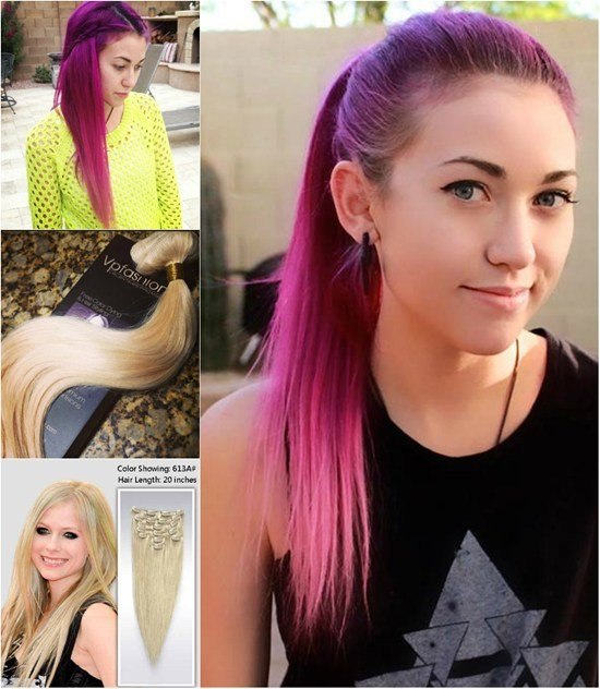 New Colored Clip In Hair Extensions Archives Vpfashion Vpfashion Ideas With Pictures
