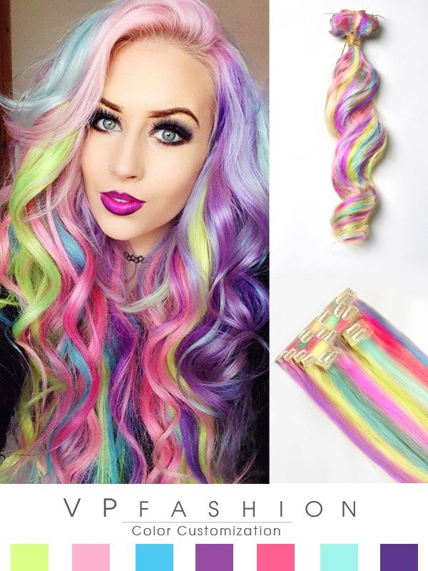 New Top 10 Hot Sale Colorful Human Hair Extensions On Blog Ideas With Pictures