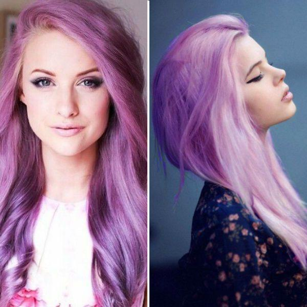 New Purple Hair Color Vpfashion Ideas With Pictures