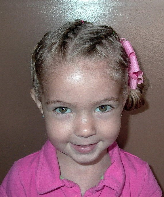 New Sweet Chearleading Hairstyles For Little Girls Ideas With Pictures