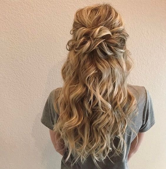 New 20 Half Up Half Down Wedding Hairstyles Anyone Would Love Ideas With Pictures