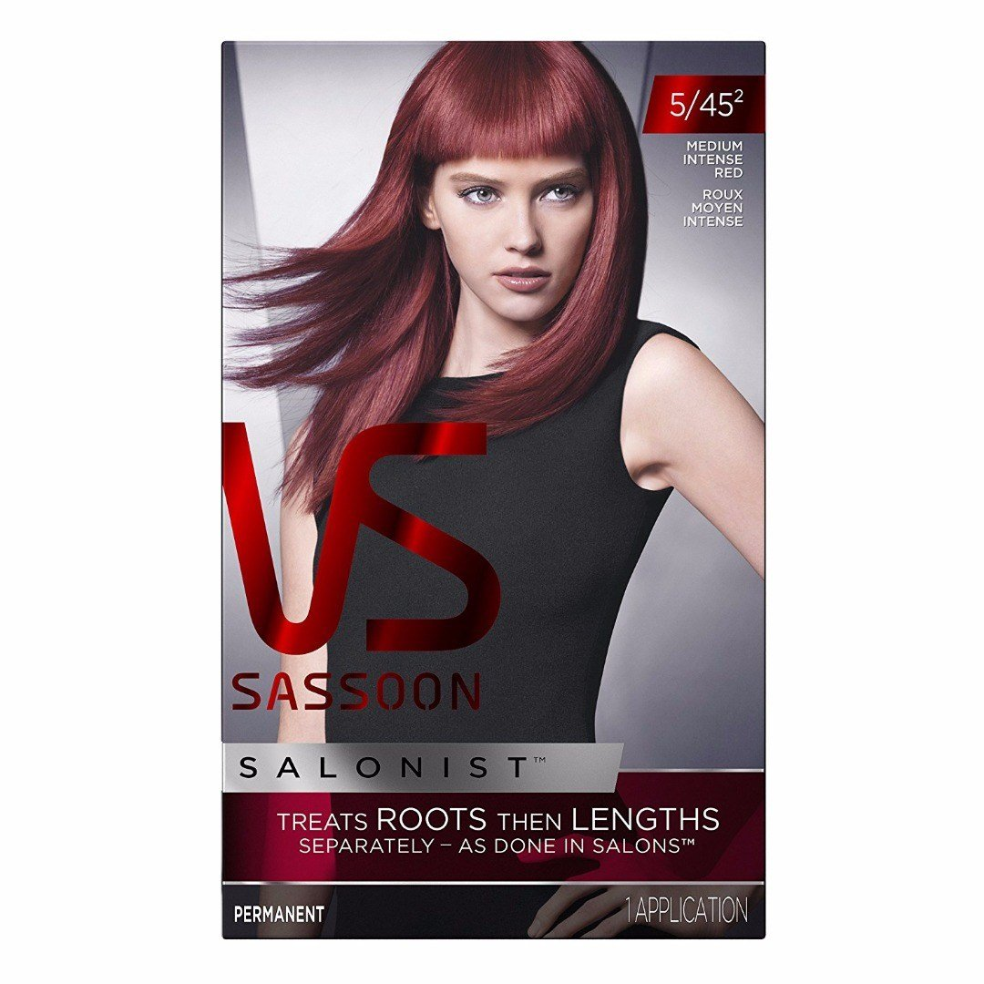 New Vidal Sassoon Salonist Hair Color 5 45 2 Medium Intense Ideas With Pictures