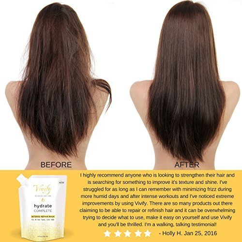 New Vivify Hair Repair Mask Achieve Healthy S*Xy Hair Ideas With Pictures