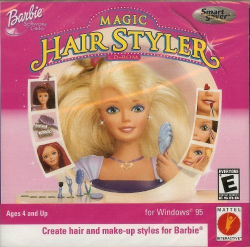 New Computer Games Barbie Magic Hair Styler Cd Rom Jc Ideas With Pictures Original 1024 x 768