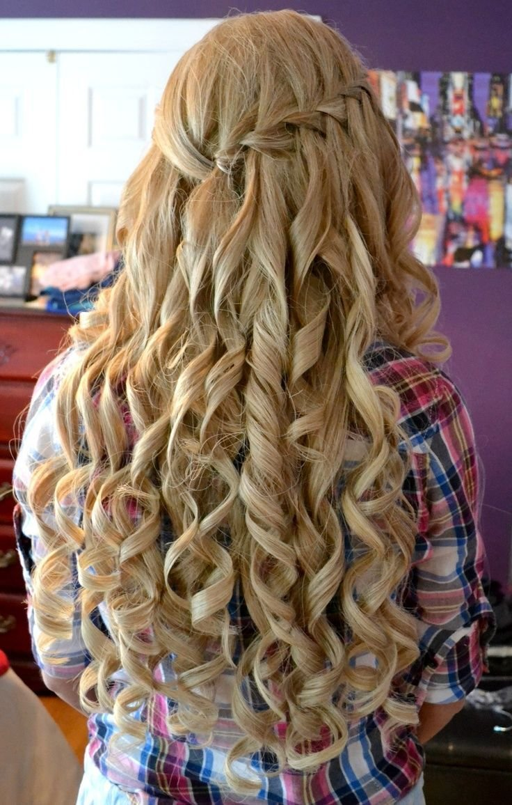 New Most Adorable Curly Homecoming Hairstyles Fave Hairstyles Ideas With Pictures