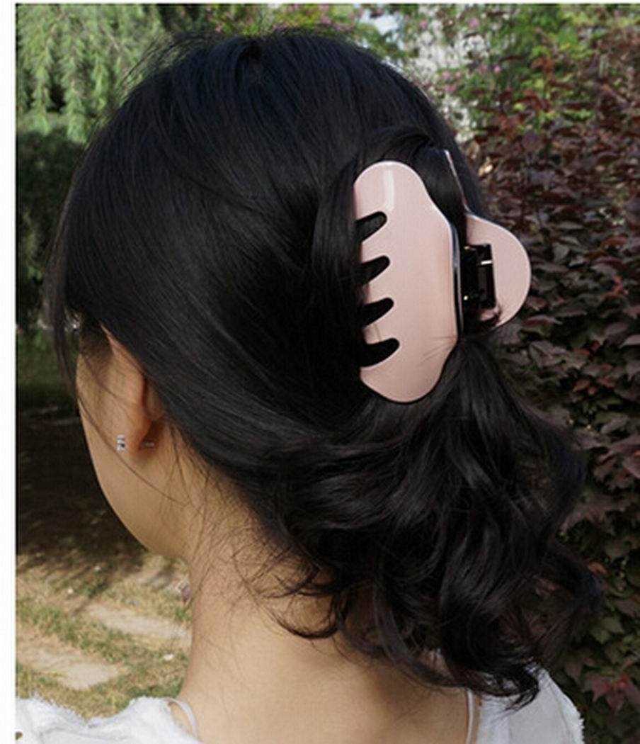 New Fashion Colorful Ladis Women Acrylic Hair Claw Clip Clamp Ideas With Pictures
