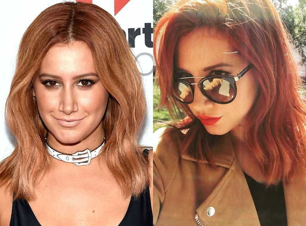 New Ashley Tisdale From Celebrities Changing Hair Color E News Ideas With Pictures