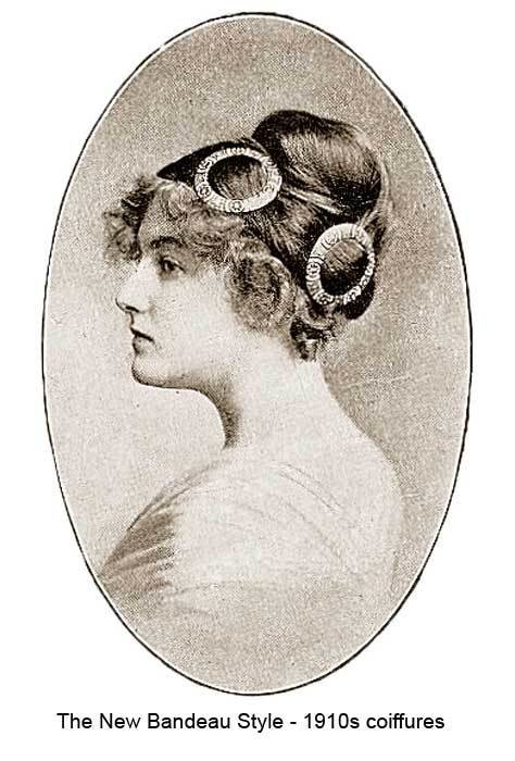 New 1910 Hairstyles – New Coiffures Of The Summer Girl Ideas With Pictures