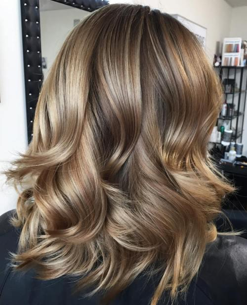 New 90 Sensational Medium Length Haircuts For Thick Hair In 2017 Ideas With Pictures