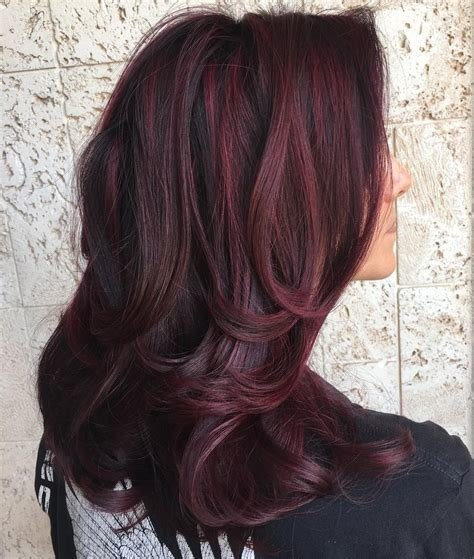 New 50 Shades Of Burgundy Hair Dark Burgundy Maroon Ideas With Pictures