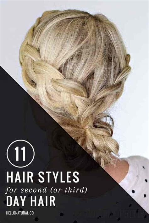 New 11 Gorgeous Second Day Hairstyles Helloglow Co Ideas With Pictures