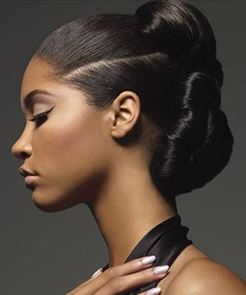 New 50 Superb Black Wedding Hairstyles Ideas With Pictures