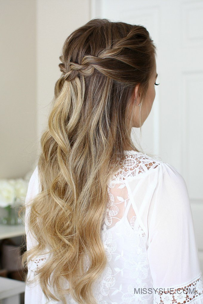 New 3 Easy Rope Braid Hairstyles Missy Sue Ideas With Pictures