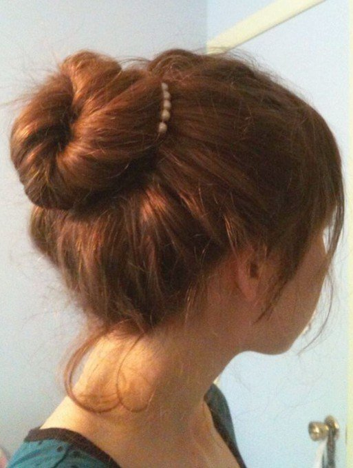 New Simple And Easy Hair Updos Popular Haircuts Ideas With Pictures