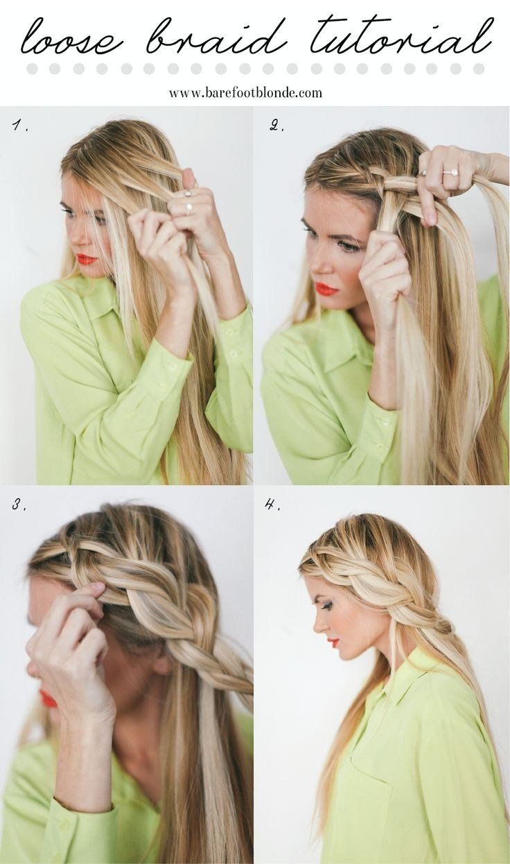 New 10 French Braids Hairstyles Tutorials Everyday Hair Ideas With Pictures