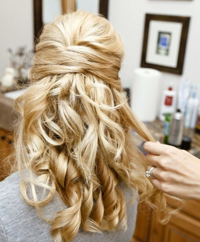 New 30 Hottest Bridesmaid Hairstyles For Long Hair Popular Haircuts Ideas With Pictures