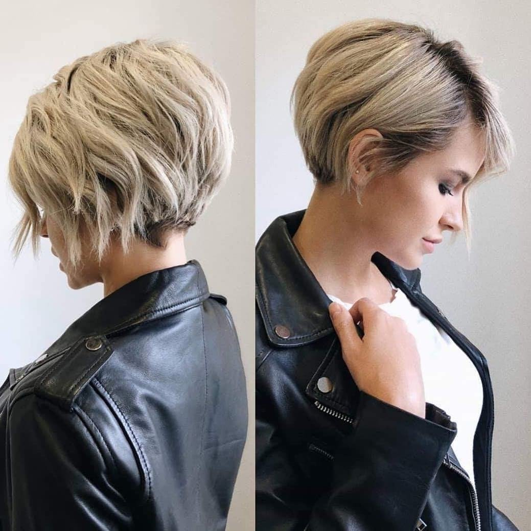 New Stylish Short Hairstyles For Thick Hair Women Short Ideas With Pictures