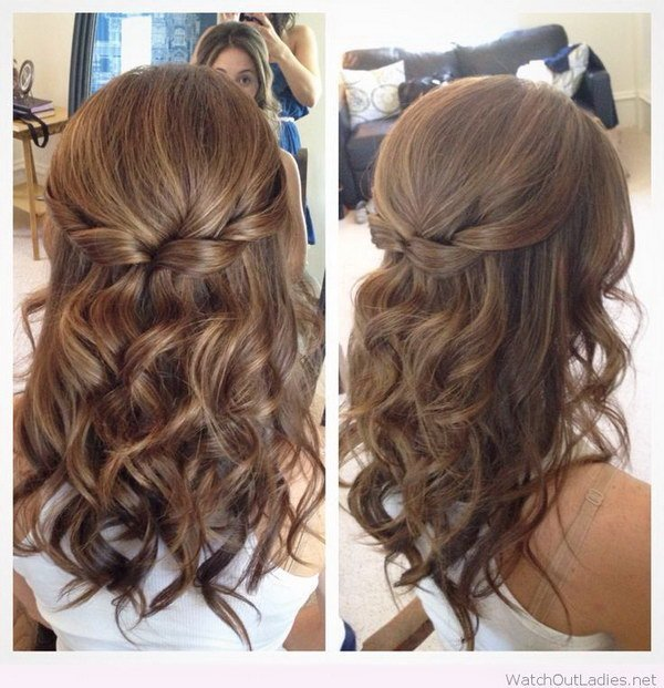 New 55 Stunning Half Up Half Down Hairstyles Ideas With Pictures
