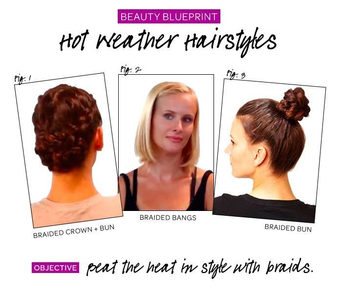 New Hot Weather Hairstyles Beauty Pinterest Ideas With Pictures