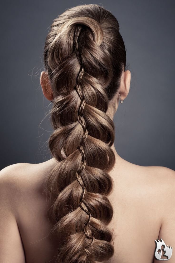 New Hairstyle Complicated Braid Hair Flair Pinterest Ideas With Pictures