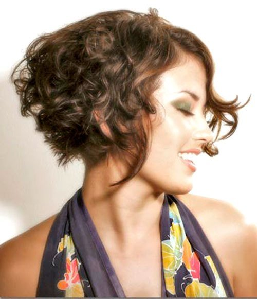 New Marvelous Looking Short Hairstyles For Curly Hair Ohh My My Ideas With Pictures