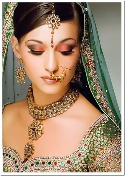 New Latest Bridal Hairstyle Indian Bridal Wears Ideas With Pictures