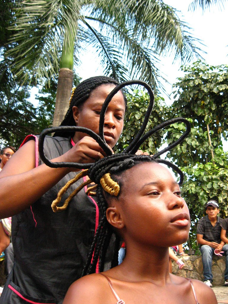 New Afro Colombian Hair Braiding Messages Of Freedom In Ideas With Pictures