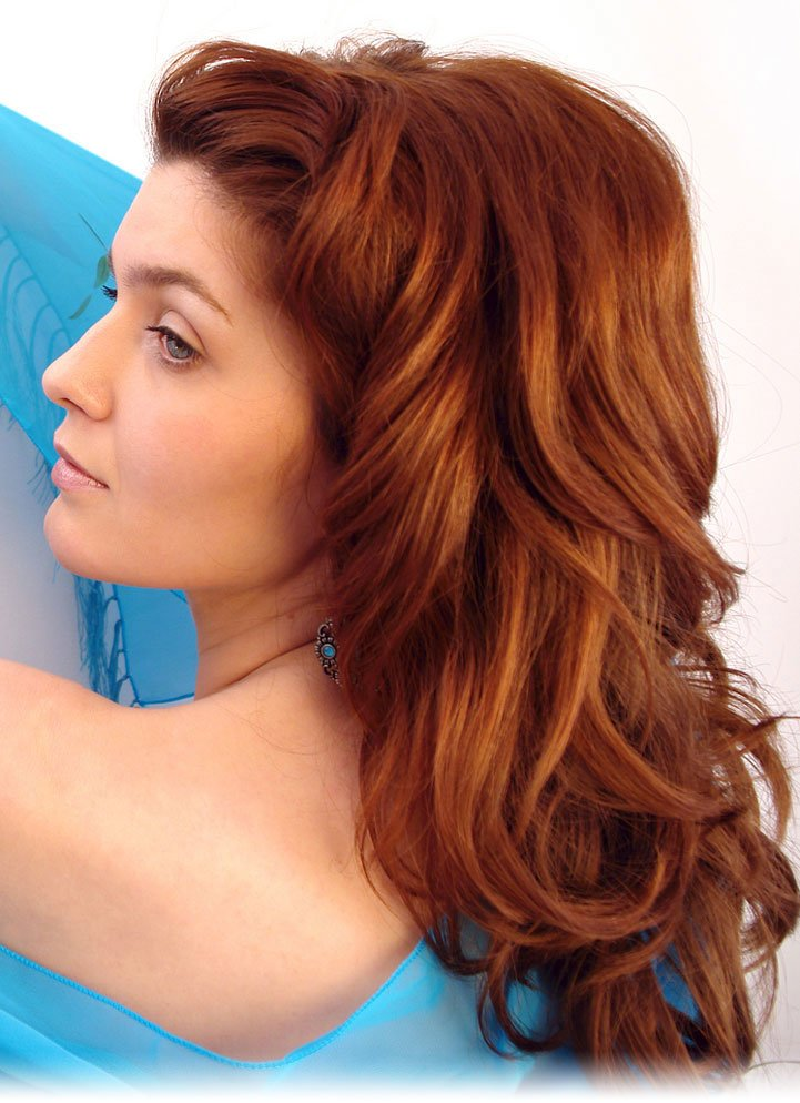 New Fashion Girl The Best Way Of Colouring The Hair Ideas With Pictures