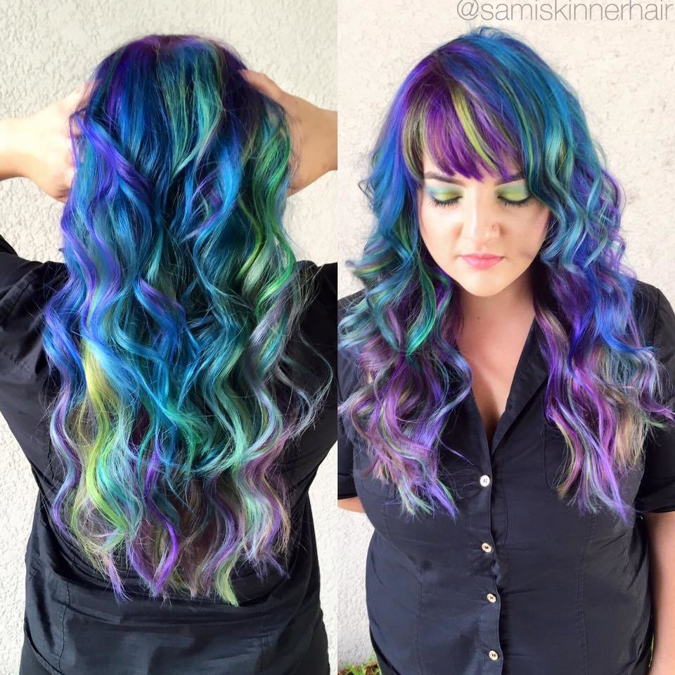 New Magical Multi Colored Hair Rio Hair Studio Ideas With Pictures