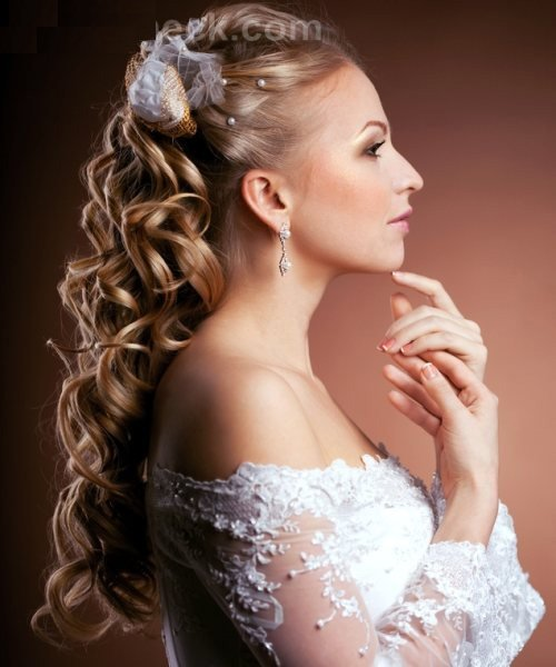 New Poisonyaoi Curly Wedding Hairstyle Ideas With Pictures
