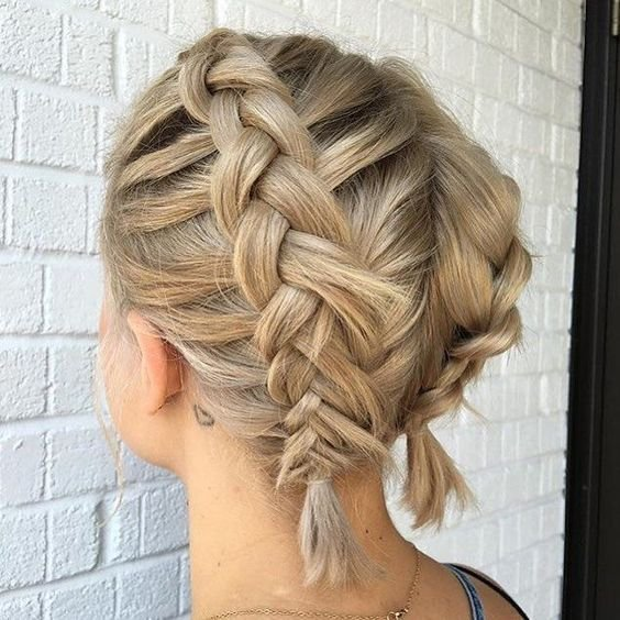 New Double Dutch Braids Hairstyles Catalog 2 Short Ideas With Pictures
