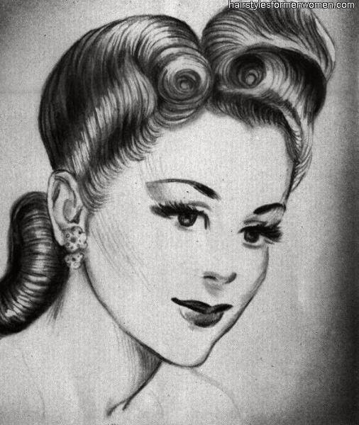 New Emily S Vintage Visions Great Hair Fridays Victory Rolls Ideas With Pictures
