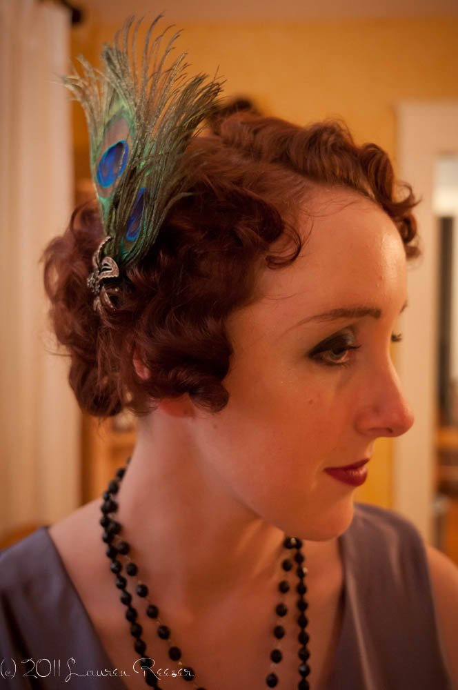New 1920S Flapper Hairstyle Tutorial Halloween Speakeasy Ideas With Pictures