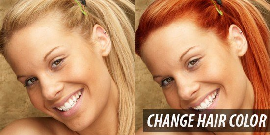 New Change Hair Color How To Change Hair Color In Photoshop Ideas With Pictures