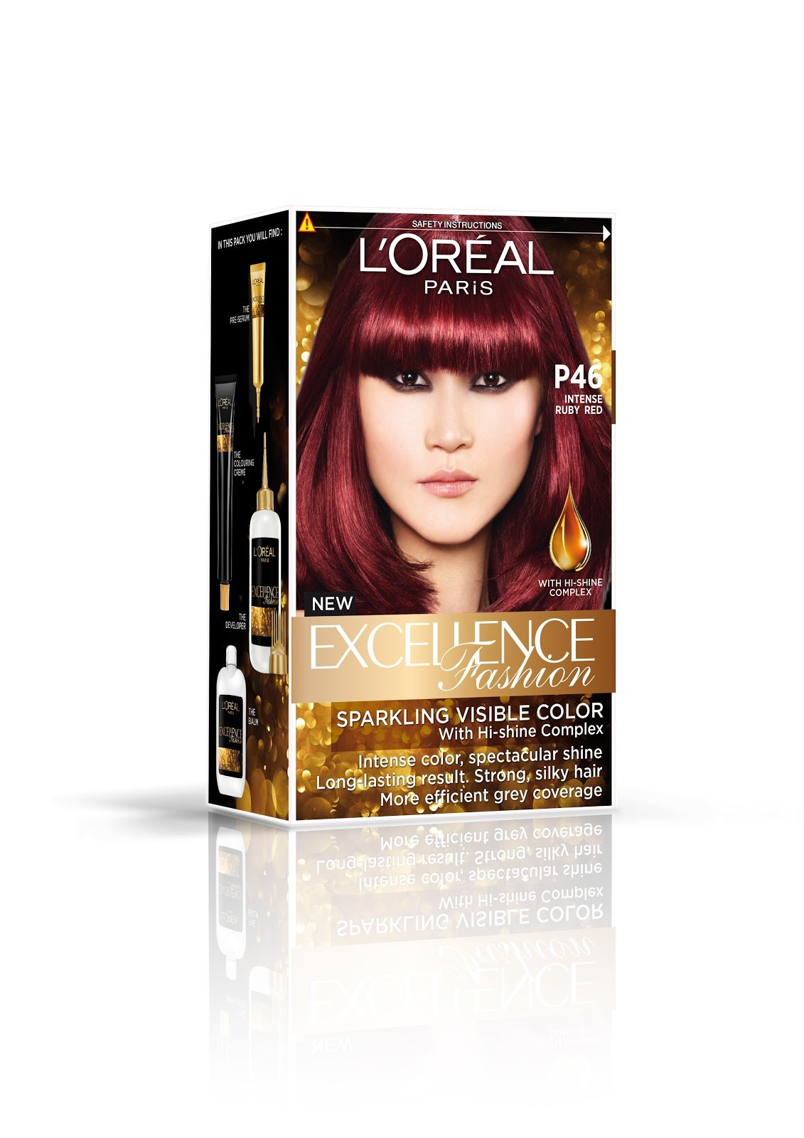 New Sophia Chong L Oreal Paris Excellence I Ve Gone Red Ideas With Pictures
