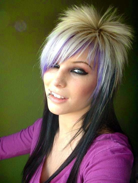New Latest Women Hair Styles Funky Hairstyles For Medium Ideas With Pictures